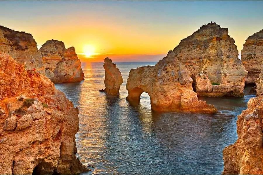 Warmest Year-Round Destinations - Algarve Portugal