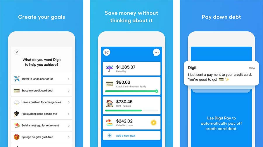 best money saving apps - Digit App
