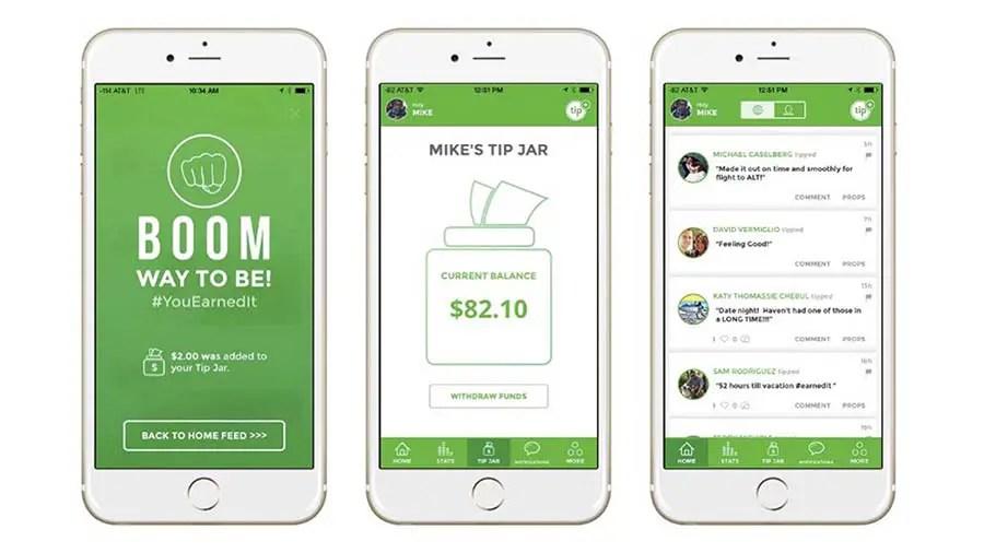 best money saving apps - Tip Yourself App