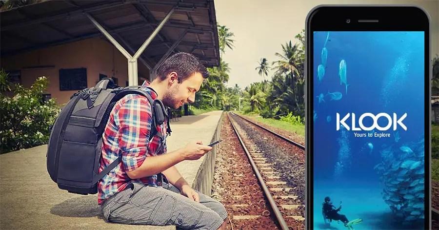 travel apps  - klook app
