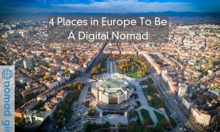 The 4 Places in Europe To Be A Digital Nomad – Be Inspired