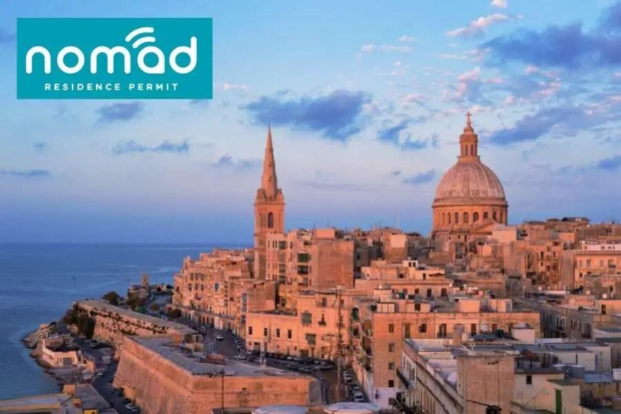 Malta Nomad Residence Permit - Digital Nomad Visa for Remote Working