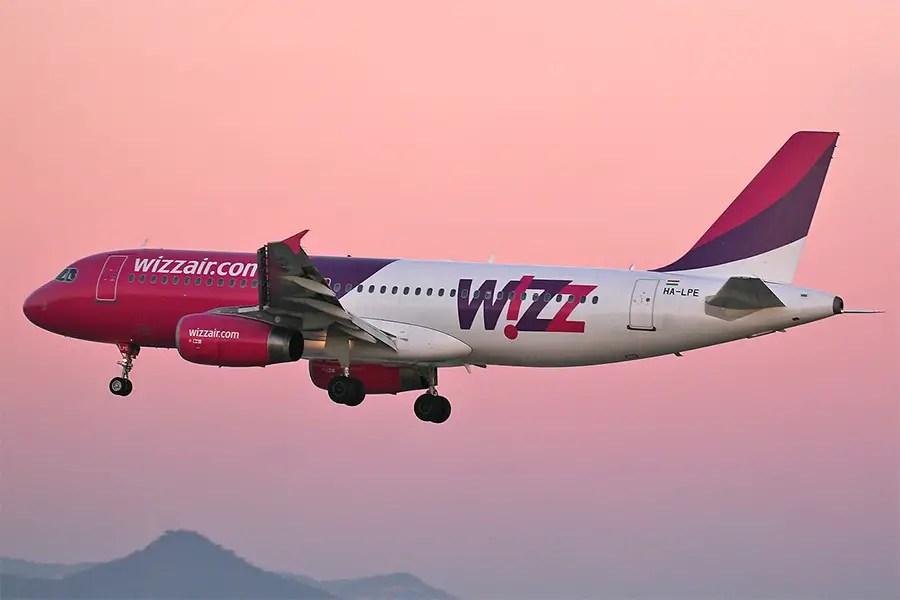 European transport options - Wizzair plane