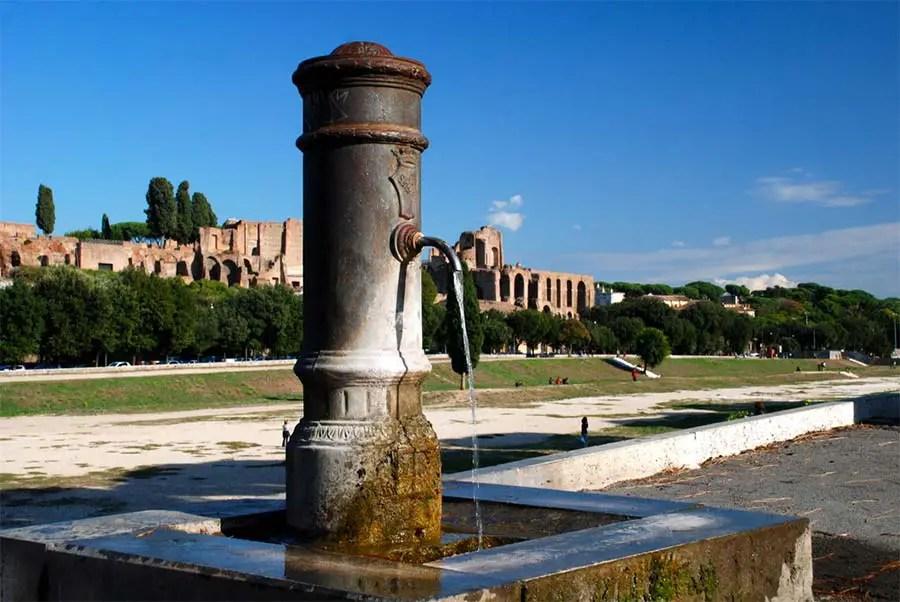 Nasori - public drinking water Rome