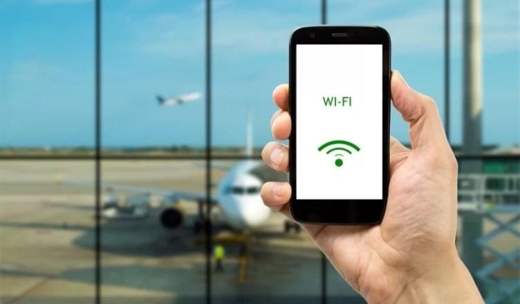 Parole wifi aeroporturi