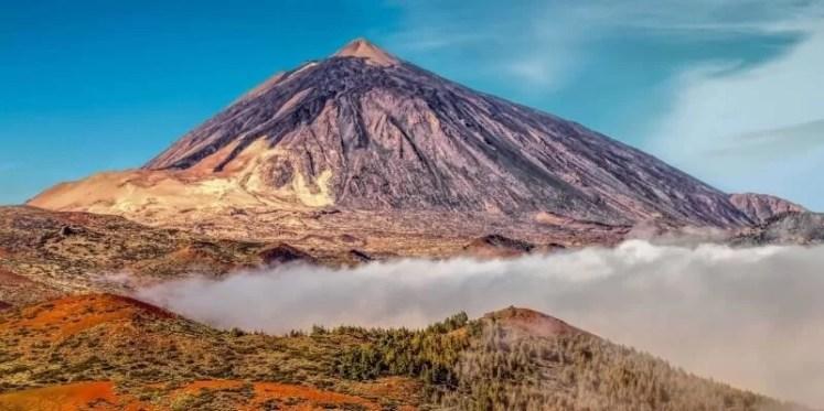 Teneriffa Vulkan Aktiv