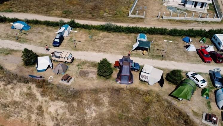camping malul marii plaja corbu