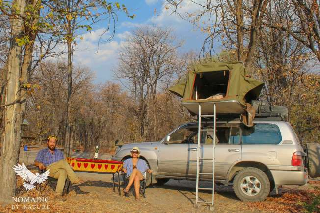 132, Day 233, South Gate Campsite, Moremi Game Reserve, Botswana
