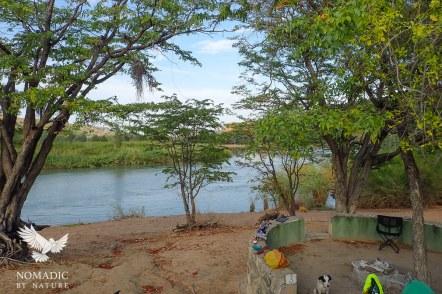 147, Days 254-255, Hippo Pools Campsite, Ruacana, Namibia