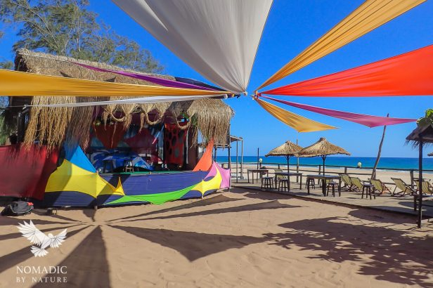 176, Days 306-307, Fatima's Backpackers, Tofo Beach, Mozambique