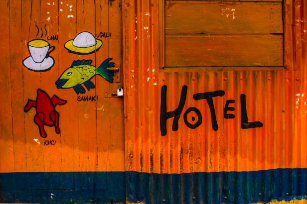 Local Hotel in Kibera