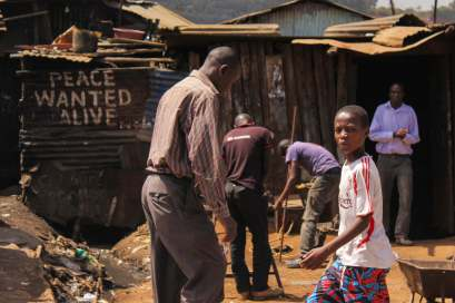 Peace Wanted Alive in Kibera