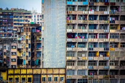 High Density Soviet Style Housing in Maputo