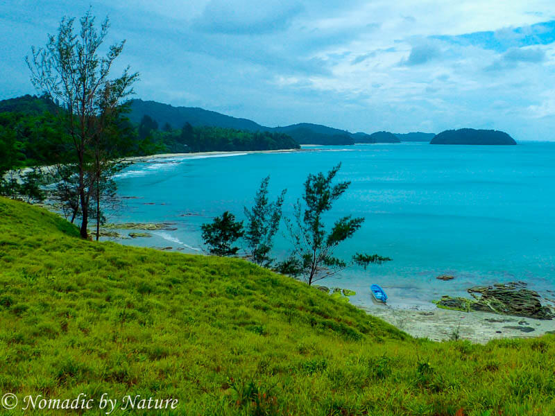 Pantai Avoi Beach Lookout, Northern Borneo