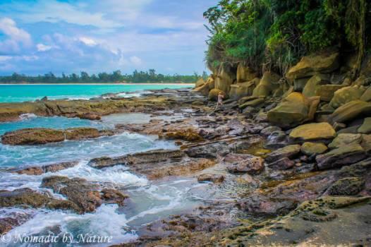 Beach Hunting in Borneo
