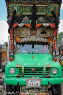 Pakistani Truck Art in Gilgit
