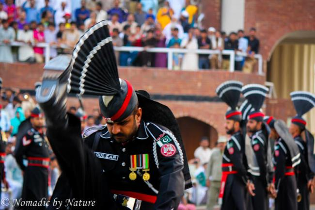 Marching Towards the Flag, Wagah Border