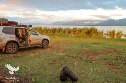 204, Day 384, Lake Jipe Campsite, Tsavo West National Park, Kenya
