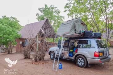 Senyati Campsite, Kasane, Botswana