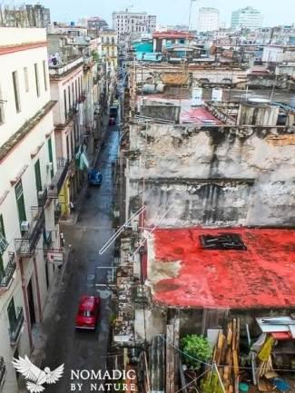 Rooftop Antennas in Old Havana