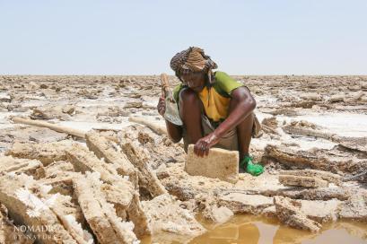 Mining Salt by Hand, Danakil Depression, Ethiopia