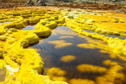 A Sulfur Hot Spring, Dallol, Ethiopia
