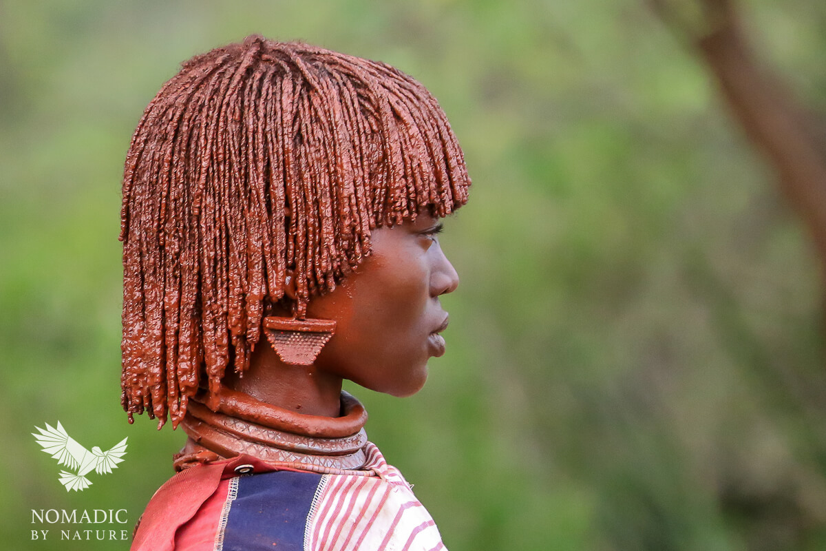 The Beauty and Strength of a Hamar Woman