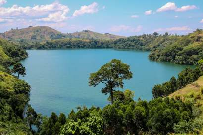 Lake Nyinambuga, Kasenda Crater Lakes, Uganda
