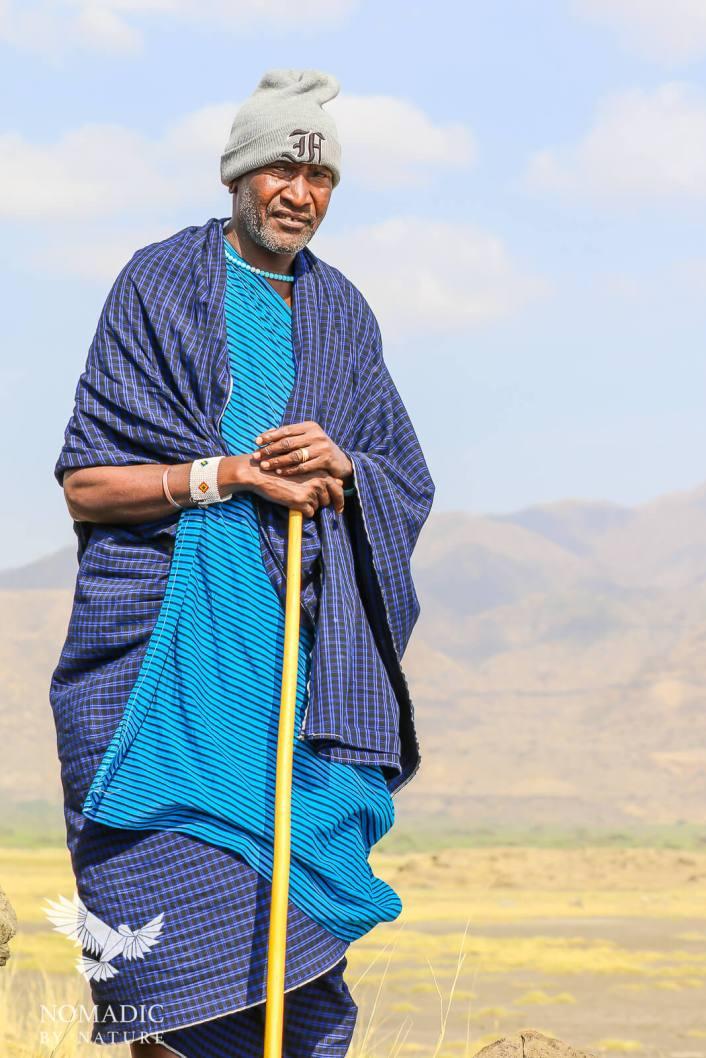 Matthew Kirrinkol, Our Wonderful Maasai Guide, Lake Natron, Tanzania