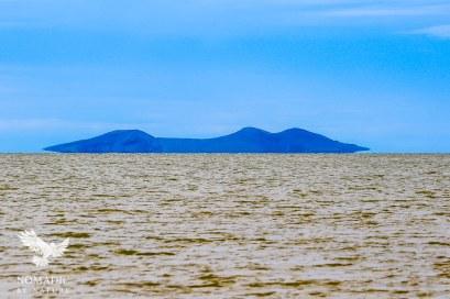 Central Island National Park Floating Above the Jade Sea, Lake Turkana, Kenya