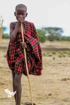 A Young Turkana Herder, Lake Turkana, Kenya