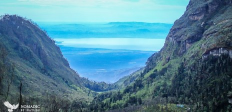 Lake Edward from the Rwenzori Mountains