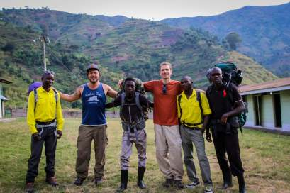 Starting Our Ascent to Weisman's Peak, Rwenzori National Park, Uganda
