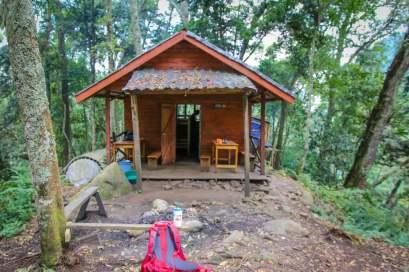 Sine Hut, Rwenzori National Park, Uganda