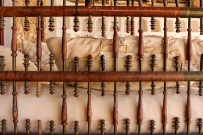 Traditional Lamu Bed, Shela, Kenya