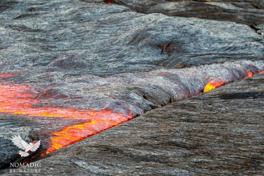 Lava Flow Subduction, Erta Ale, Ethiopia