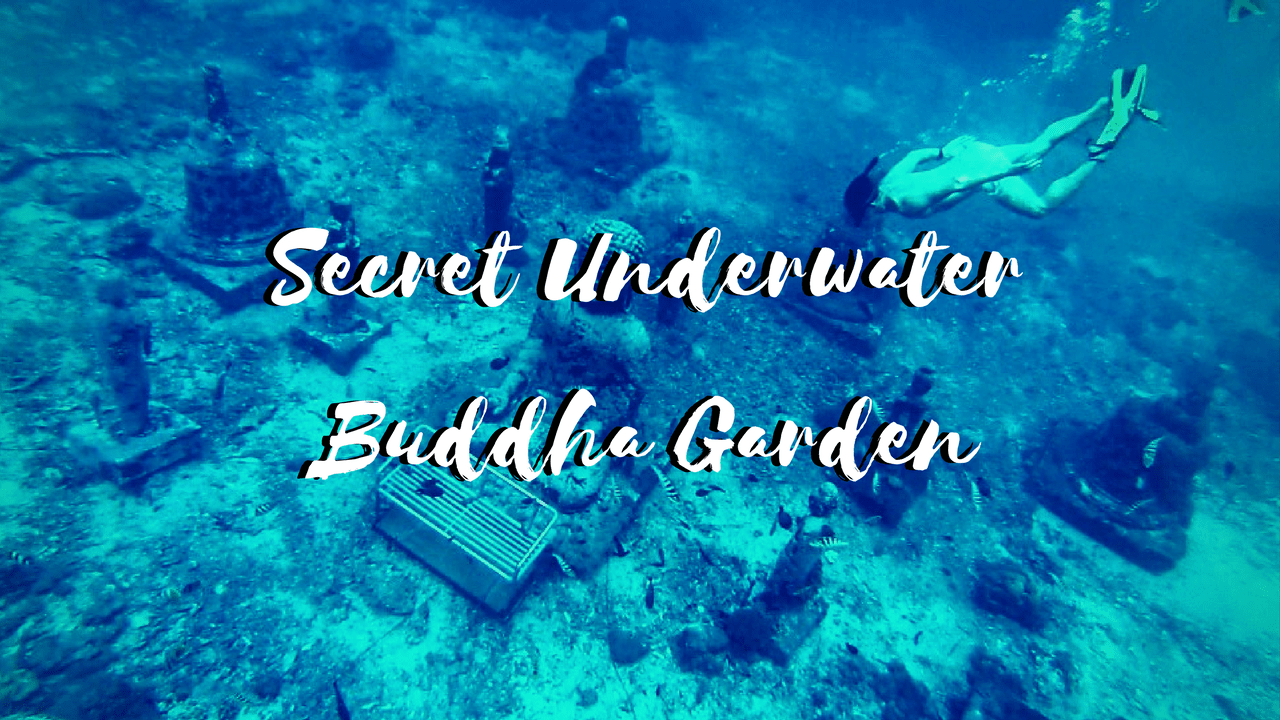 underwater buddha garden, Secret Underwater Buddha Garden in Bali, Nusa Lembongan and Ceningan Islands
