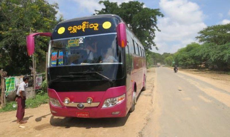 mandalay to bagan bus