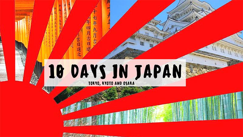 10 days in japan