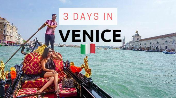 3 days in venice cover
