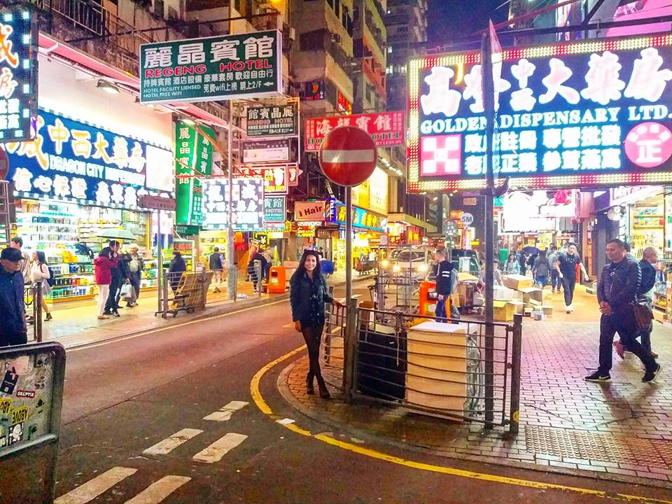 hong kong itinerary ladies market