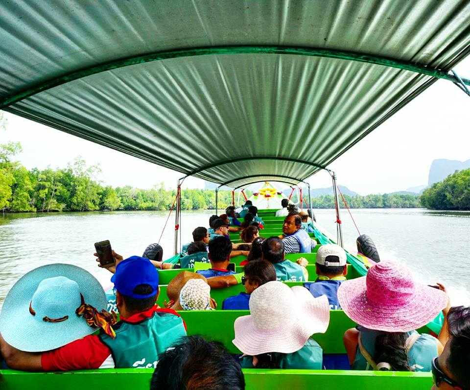 boat to phang nga james bond island