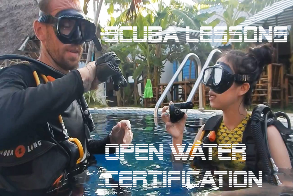 scuba lessons padi open water certification