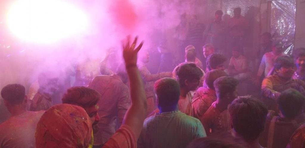 holi in indore
