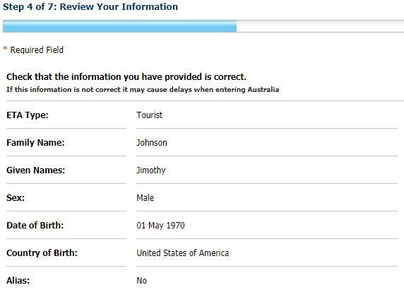 step 4 eta visa australia