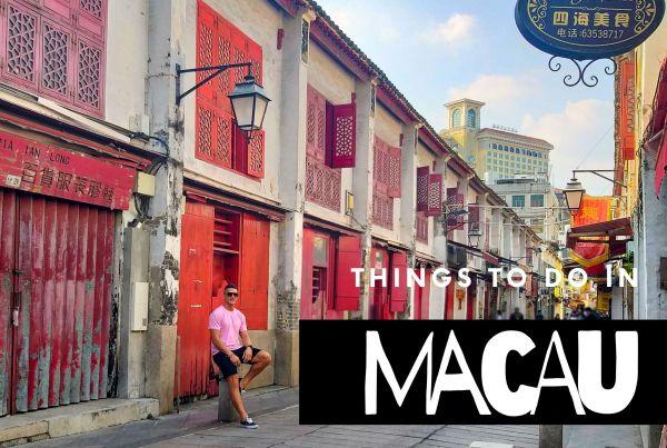 things to do in macau China