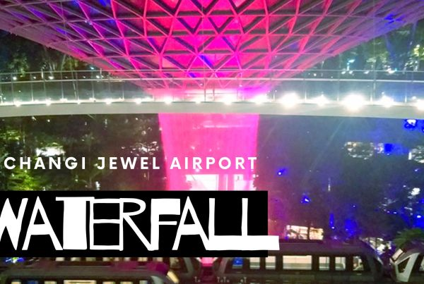 changi jewel airport waterfall singapore blog