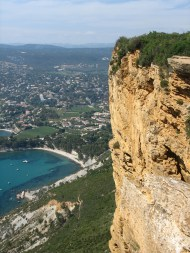 Looking over Cassis.