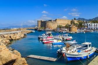 Fortress in Kyrenia (Girne), North Cyprus