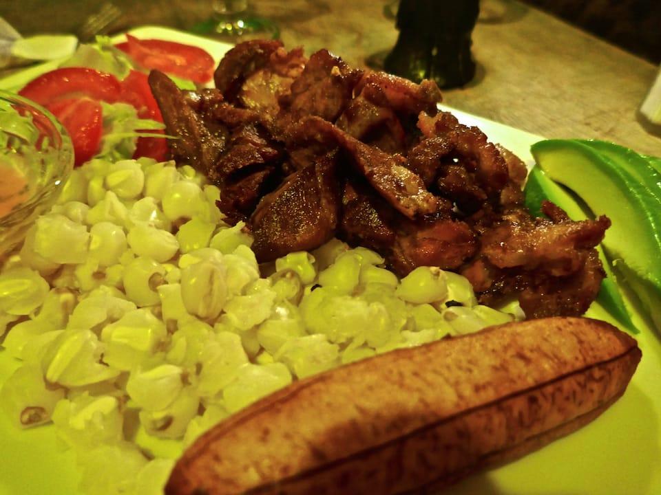 Popular Ecuadorian Food